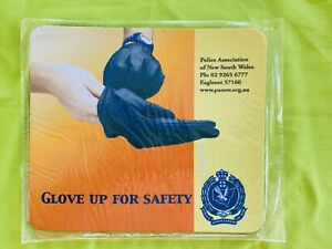 Vintage & Obsolete: Police Association of NSW Mouse Pad. Neoprene: BRAND NEW.