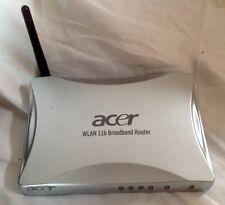 WLAN Breitband Router v Acer 11b incl.1x PMCI Karte Wireless Lan 4 Ports DSL