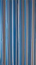 Bathroom Stripe Mould-Resistant Bath Shower Curtain with Hooks Trendy (Croydex)