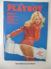 Playboy Vintage Magazine   March 1975  Ingeborg Sorensen CF  Margot Kidder