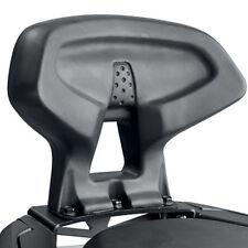 Respaldos color principal negro para motos Honda