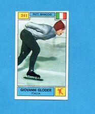 CAMPIONI SPORT 1969-70-PANINI-Figurina n.241- GLODER -ITALIA-PATT.GHIACCIO-Rec