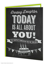 SALE Daughter Birthday Greetings Card Funny Comedy Humour Novelty Cheeky Joke