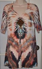One World Live And Let Love Top Size Medium