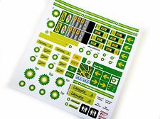 BP GASOLINE PETROL STATION STICKERS for LEGO 1253 1255 1256 ,CUSTOM BUILD, ETC