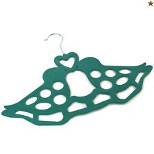 22173a5ec4fc Teal Green Love Birds Scarf Hanger Belt Ties Shawl Necktie Wardrobe  Organiser