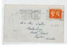 BL50 1940 GB WARTIME SCOUTING Slough Bucks Scouts AGENDA Card {samwells-covers}