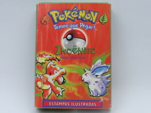 Pokemon BrushFire Theme Deck Portuguese 1999 (Read Description)