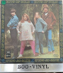"The Mamas & The Papas Hits Of Gold 12"" Vinyl Record Album EX / EX CON"
