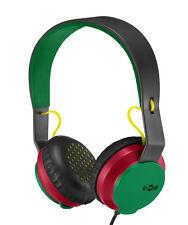 House of Marley Roar On-Ear Headphones with 1 Button Controller & Mic - Rasta