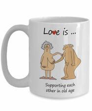 Funny birthday gift valentines for wife husband mum dad mug