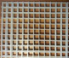 Lichtrasterplatte 620 x 624 x 13mm EUR 50,40 / m²