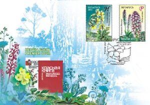 2285 - Belarus - 2011 - Protected Plants flowers - FDC - Lemberg-Zp