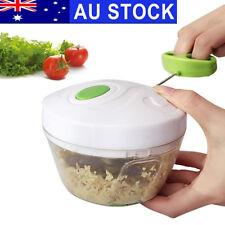 Food Processor Vegetable Hand Chopper Cutter Manual Mixer Shredder Dishwasher AU