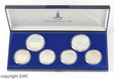 Coin Münzen Münzsatz Moskau 1980 Olympiade 900 Silber Rubel Stempelglanz