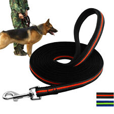 Heavy Duty Extra Long Tactical Dog Leash Strong Tracking Training K9 Nylon Rope