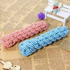 Puppy Pet Cotton Chew Knot Braided Bone Rope Playing Toy Useful Fun Useful