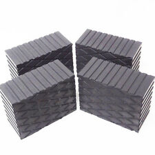 "3"" Tall Solid Rubber Stack Blocks for Any Auto Lift or Rolling Jack - Set of 4"