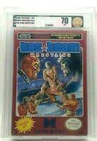 Tag Team Wrestling New Factory Authenticated H-Seam Nintendo NES VGA Graded 70