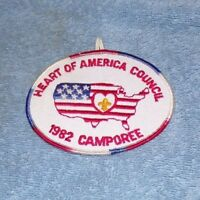 BSA: Heart of America - 1982 Camporee Patch