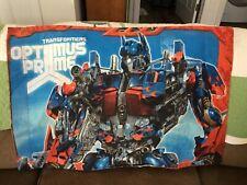 "Transformer Optimus Prime Pillowcase ""Hasbro""  **EUC**"