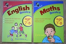 Maths English Educational Activity Book x 2 Year 3 Home Learning Bundle 7 8