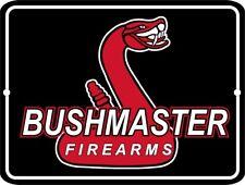 Bushmaster Firearms Logo Security 9 x 12 Aluminum Sign
