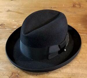 Vtg 1950s KNOX Homburg Fedora Hat. Minty. 7-1/8