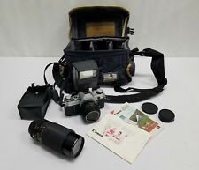 Vintage Canon AE-1 Program 50mm Film Camera - Nice - Free Shipping