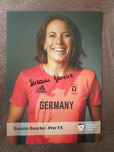 SUSANN BEUCKE Autogramm signiert handsigniert