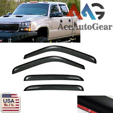 Window Visor Guard 2001-06 Chevy Silverado/GMC Sierra 1500/2500/3500 HD Crew Cab