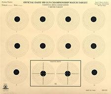 "(25) AR-4/10 [AR4/10] NRA Official 5 Meter BB Gun Target, Tagboard [14"" x 12""]"