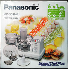 ***NEW*** PANASONIC MK-5086M 6-in-1 Food Processor w/Citrus Juicer 220V