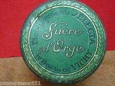 Jolie ancienne boîte en tôle, Selecta, Bassin de Vichy