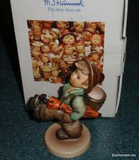"""Globe Trotter"" Goebel Hummel Figurine #79 TMK6 Boy With Umbrella With Box!"