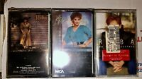 LOT OF 3 SEALED REBA MCENTIRE CASSETTE TAPES WHOEVER'S IN NEW ENGLAND UNOPENED
