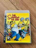 Les Simpson Le Jeu  Sony PlayStation PS3  PAL avec boitier en bon etat