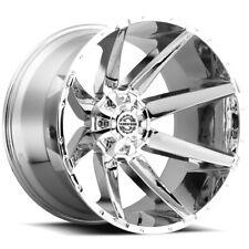 4 Scorpion Sc 31 20x10 6x1356x55 19mm Chrome Wheels Rims 20 Inch Fits Ram