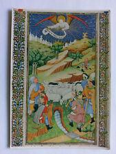 Bodleian Library Oxford colour Postcard c1970s Angel & Shepherds