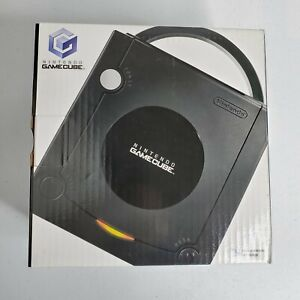 Nintendo GameCube Black Console Brand NEW - ALL IN PLASTIC NEVER USED! DOL 101