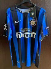 maglia Inter Milito triplete 2010 finale champions MADRID 2010 shirt 22 patch