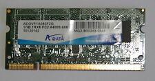 Module RAM 1 Go DDR2 SoDimm PC2-6400S-666 pour PC portable