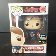 Funko POP! MARVEL #92 Avengers: Age of Ultron -Captain America [Unmasked] SDCC15