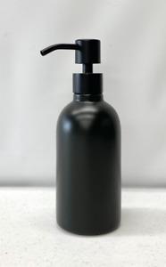NEW Pottery Barn Matte Black Ceramic Lotion Pump~*READ