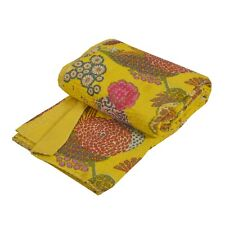 Tcw New  Gudari Kantha Cotton Full Throw Bedspread Hand Made Needle Work