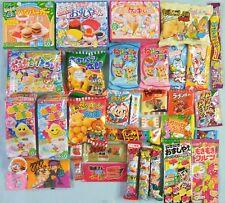35 pcs Japanese Candy Snack Set Dagashi Kracie Popin Cookin Happy Kitchen Gift