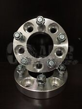 "2 Wheel Spacers FOR SUBARU BAJA Hub 5 Lug Bolt Aluminum  Adapters 1"" 5X100"