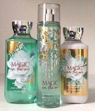 Bath Body Works MAGIC IN THE AIR Shower Gel Fragrance Mist Lotion Full Size