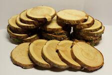 Holzscheiben Astscheiben Baumscheiben Lärche 20 Stück 6-8 cm