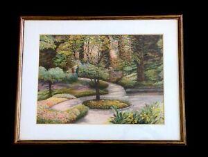 "Harold Altman lithograph ""Shaded Path"" ~ 1988"